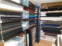 Nähzimmer, Schneiderei, tailer, Werkstatt, Atelier, workshop Blinds, Workshop, Stairs, Curtains, Design, Home Decor, Atelier, Dressmaking, Ground Floor