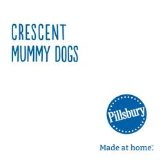 Wrap up a hot dog in true mummy fashion in this fun Halloween take on classic Crescent Dogs.