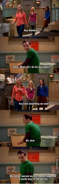 Sheldon's mom warned him about this #funny #bigbangtheory #lol #humor
