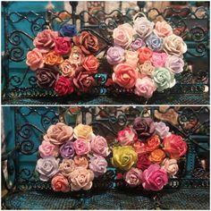 Crown of Flowers 1:12 for dollhouses de TheDollHouseNym en Etsy