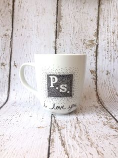 Coffee Mug, Coffee Cup, Sharpie Mug $10