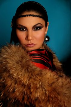 Inuk Glam. Photo by Summer Faith Garcia of Rez Kat Studios.