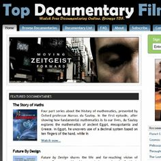 Some Free documentaries! http://topdocumentaryfilms.com/watch-online/