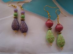 SALE GYPSY RAIN Earrings  Bohemian style earrings  by Nezihe1, $10.00