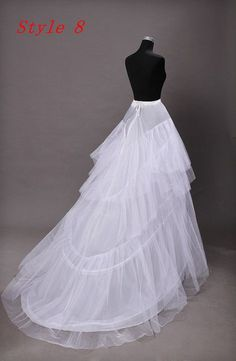 Sewing Dresses New Pattern Special Petticoat Will Drag. Wedding Dress Bustle Bride Thick And Disorderly Gauze Skirt Tail Wedding Dress Bustle, Wedding Gown A Line, Wedding Party Dresses, Bridal Dresses, Dress Party, Wedding Dress Patterns, Creation Couture, Costume Dress, Clothing Patterns