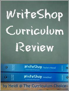 WriteShop Review • homeschool writing curriculum for junior high and high school