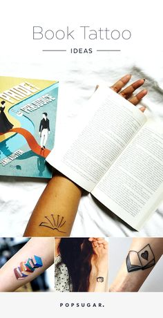 If you want to make your adoration for a great story permanent, a book tattoo is an awesome way to do it.