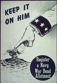 Póster de propaganda Norteamericano contra Japón -11