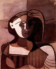 Buste of young woman (Marie-Therese Walter) (1926) by Pablo Picasso