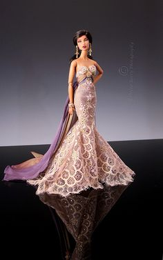 Brilliance in Christabelle's gown 1 by think_pink1265, via Flickr