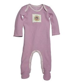 Thermal Footed Coverall - Burts Bees Baby