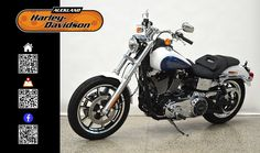 2015 HARLEY-DAVIDSON FXDL in WHITE/BLUE At Auckland Motorcycles & Power Sports,  New Zealand www.amps.co.nz