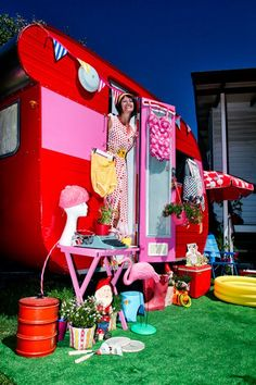 """The Best Little Vintage Van in Vegas..laughing..that's a lot of """"stuff"""" to carry around ...lol"""