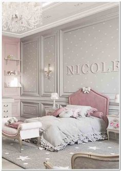 65 Charming Rustic Bedroom Ideas and Designs Luxury Kids Bedroom, Girls Bedroom, One Bedroom, Kids Bedroom Designs, Kids Room Design, Baby Room Decor, Room Decor Bedroom, Bedroom Ideas, Vitrine Design