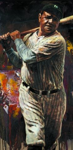 Baseball - Art of the Stars - Sports Art by Stephen Holland and other sports artists.