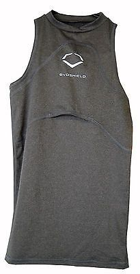 Compression and Base Layers 179828: Evo Shield Protective Chest Guard Shirt Youth Small Gray - New -> BUY IT NOW ONLY: $49.99 on eBay!