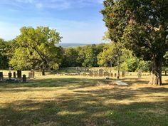 Historic Garrison Hill Cemetery along the Mississippi River. Photo courtesy of Christopher Martin. Randolph County, Cemetery, Mississippi, Illinois, Golf Courses, Dolores Park, River, Autumn, Places