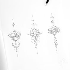 lotus tattoo Tattoo Artist Fedor Nozdrin on Instag - tattoo Unalome Tattoo, Tattoo On, Mandala Tattoo, Shape Tattoo, Tattoo Abstract, Sternum Tattoo Lotus, Tattoo Watercolor, Butterfly Tattoos, Wrist Tattoo