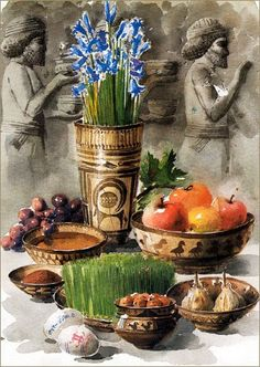 "Nowruz (Persian: نوروز‎,meaning ""[The] New Day"") is the name of the Iranian New Year. in Iranian calendars and the corresponding traditional celebrations.Nowruz is also widely referred to as the ""Persian New Year""."