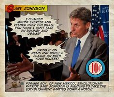 Chuck Norris has nightmares about Gary Johnson.