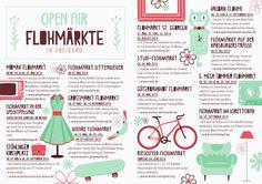 Open Air Flohmärkte in Freiburg  Freiburger Flohmaerkte im Sommer 2016. Vorgestellt von deinem subculture Magazine