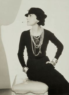 """Fashion is not something that exists in dresses only. Fashion is in the sky, in the street, fashion has to do with ideas, the way we live, what is happening.""