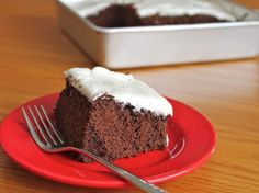 Quick Gluten-Free Chocolate Cake Recipe Desserts with cocoa powder, boiling water, granulated sugar, white rice flour, sweet rice flour, potato starch, baking powder, baking soda, salt, canola oil, large eggs