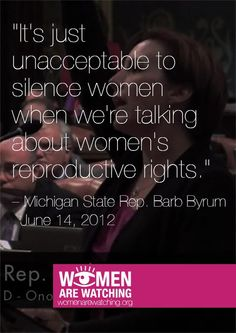 The Vagina is now a PUBLIC and LEGISLATIVE ISSUE ...what we conceal in the uterus (by way of the vagina) is subjected to state and constitutional laws...so why can't we, the women, who are empowered with this REPRODUCTIVE RIGHT, speak in behalf of all vaginas???    Who has MORE RIGHTS to speak on the subject?