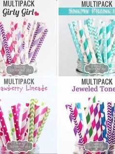 50 Trendy Paper Straw Multipack (lots of colors & styles available) $5.99 - http://www.pinchingyourpennies.com/50-trendy-paper-straw-multipack-lots-colors-styles-available-5-99/ #Bellachic, #Paperstraws