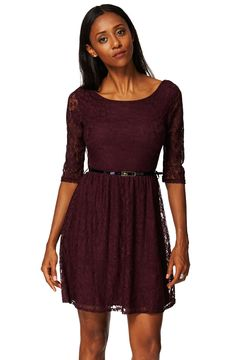 ScottyDirect - Round Neck Lacey Skater Dress, $44.95 (http://www.scottydirect.com/round-neck-lacey-skater-dress/)