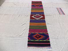 "Kilim Rug Runner,9""x2"" Feet 173x60"" Cm Handwoven Narrow Runner Rug,Home Decor Colorful Turkish Kilim Rug Runner."