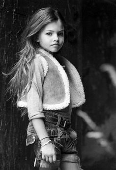 10 year old Thylane Lena-Rose Blondeau is probably the most beautiful little girl I have ever seen