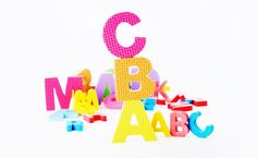 ABCs Learning Toys and Activities: How Our Daughter Learned the Alphabet Through Play, at Her Own Pace Magnetic Alphabet Letters, Wooden Alphabet, Wooden Letters, Learning The Alphabet, Learning Toys, Learning Ability, Drawing Letters, Non Toxic Paint, Simple Words