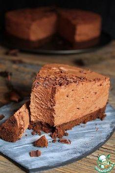 Шоколадный торт-мусс без выпечки - кулинарный рецепт