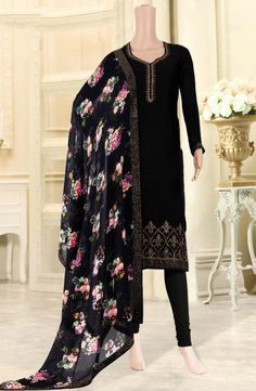 Eid Special Churidar Suits Collection With Digital Printed Dupatta Catalog Eid Special, Churidar Suits, Blue Satin, Casual Wear, Digital Prints, Catalog, Kimono Top, Printed, How To Wear