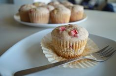 Brown Butter Strawberry Cupcakes -- try with two cups of strawberries