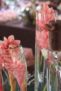 Piccolo Sogno: Pink and Brown Baby Shower { Chá de Bebê Poá em Rosa e Marrom }www.piccolosognodesign.com