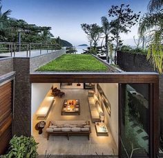 Love the green roof