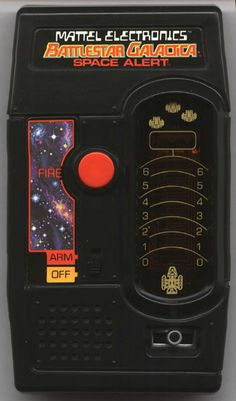 """Mattel Electronics """"Battlestar Galactica: My first encounter with handhelds.....I'm 44 and still hooked"""