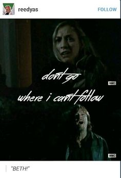 Please don't hate me for liking Bethyl... (Not as a couple but like a brother/sister love)