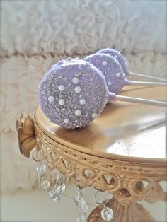 Edible Wedding Favors Silver and purple Chocolate by FrosttheCake, $21.00