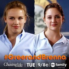 TV Worth Blogging About: Chasing Life - It All Hits the Fan, GreerandBrenna, Chasing Life episode 5,