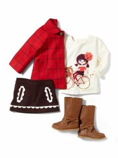 Baby Clothing: Toddler Girl Clothing: We ♥ Outfits | Gap# A little bit mod...