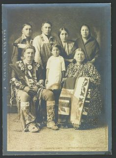 Bert Fremont and family - Omaha - circa 1910