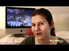 Educational video on volcanoes