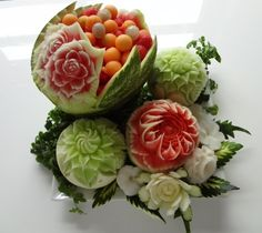 fruit & veg carving