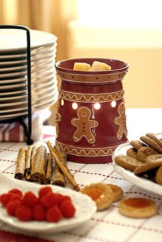 gingerbread full-size premium wax warmer electric candle #scentsy $28