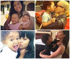 Ayesha Curry, Kim K & Amber Rose: Can Social Media Please Just Let Celeb Moms Live? Let's Recap…