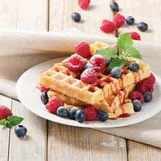 Home-Style Waffles