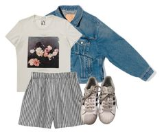 """""""Untitled #81"""" by hippiessunflower on Polyvore featuring Balenciaga, le vestiaire de jeanne and adidas"""
